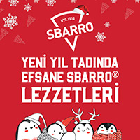 New Year Surprises by Sbarro®!
